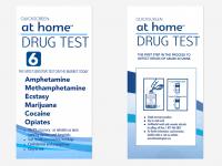 6 Panel (Multiple Drug) – At Home DIP CARD test