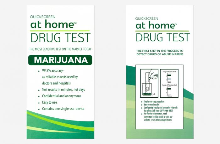 Marijuana – At Home DIP CARD test